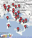Mappa dei blog Italiani